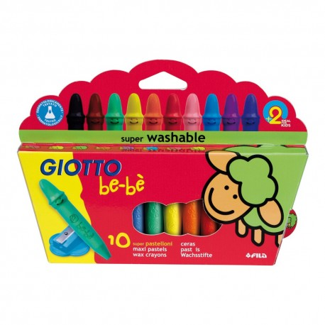 Set 10 creioane cerate Giotto Bebe