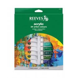 Set 24 culori acrilice Reeves