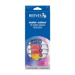 Set 12 culori acuarela Reeves