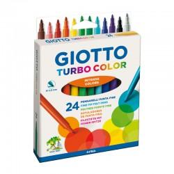 http://Set 24 carioci Turbo Color Giotto