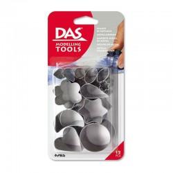 Set 12 matrite metal DAS