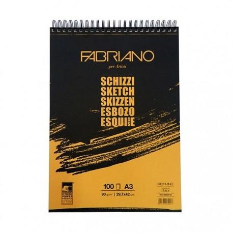 Bloc desen Schizzi Fabriano