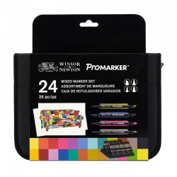 Set 24 Mixed Wallet Winsor & Newton