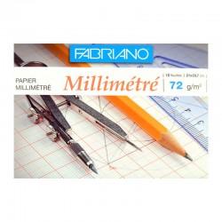 Bloc hartie milimetrica Fabriano