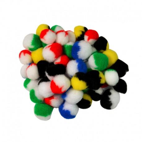 Pomponi bicolori