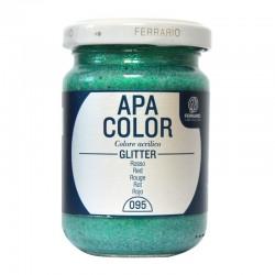 Culori acrilice Apa Color Glitter Ferrario
