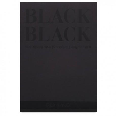Bloc Black Black Fabriano