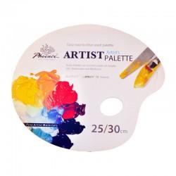 Paleta pictura hartie unica folosinta