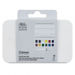 Set acuarela Cotman Brush Pen Winsor & Newton