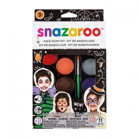 Kit Scary Faces Haloween Snazaroo