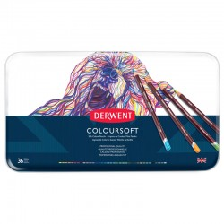 Set 36 creioane colorate Colorsoft Derwent