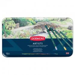 Set 72 creioane Artists Derwent