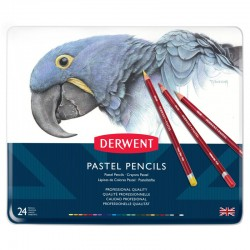 Set 24 creioane Pastel Pencil Derwent