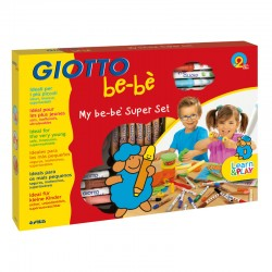 Set Maxi desen si modelaj Giotto Be-be