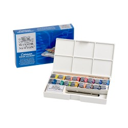 http://Set acuarela Deluxe Sketchers Pocket Cotman Winsor Newton