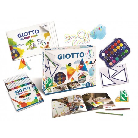 Set creativ Easy Painting Art Lab Giotto