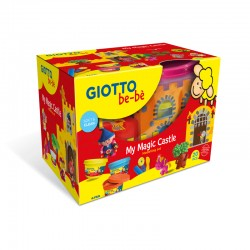 Set modelaj plastilina My Magic Castel Giotto Bebe