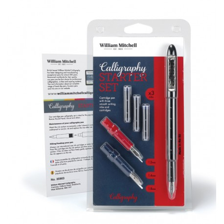 Set stilou Calligraphy Starter William Mitchell