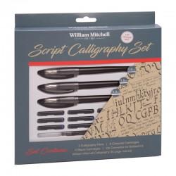 http://Set Script Calligraphy Oblique William Mitchell