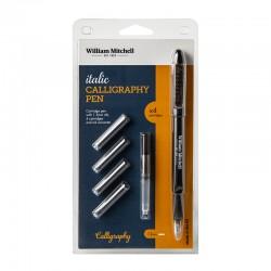 http://Set stilou Italic Calligraphy William Mitchell