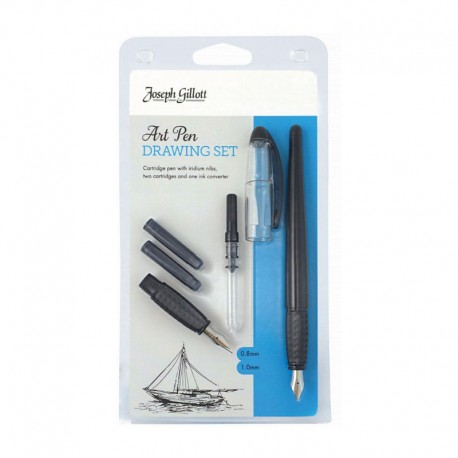 Set stilou Art Pen Joseph Gillott