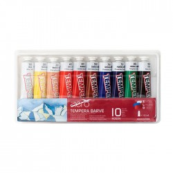 Set 10x42ml tempera Aero
