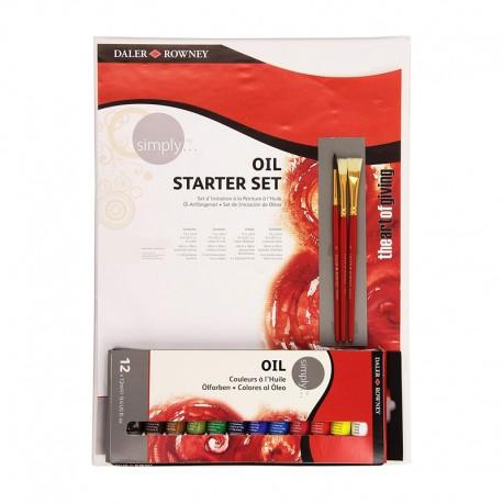 Set starter 12x12ml culori de ulei Simply