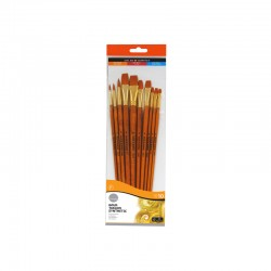 Set 10 pensule acrilic Simply Daler Rowney