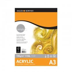 Bloc acrilic Simply Daler Rowney