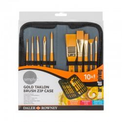 http://Trusa 10 pensule acrilic Simply Daler Rowney