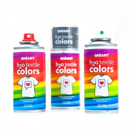 Culori textile spray H2O Textile Colors Ghiant