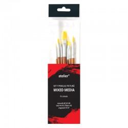 http://Set 7 pensule pictura mixed media Atelier