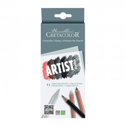 http://Set 11 creioane Drawing 101 Cretacolor