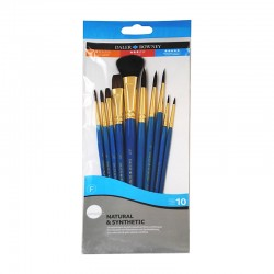 http://Set 10 pensule acuarela Simply Daler Rowney