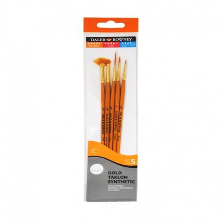 Set 5 pensule Daler Rowney