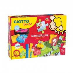 Set Model & Puzzle Giotto Bebe