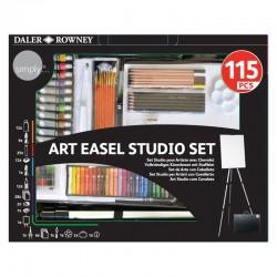 http://Set pictura cu sevalet Art Studio Daler Rowney