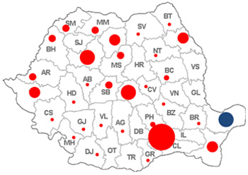 Clienti distributie Romania